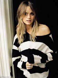 Big step: Prince Harry's former girlfriend, Cressida Bonas, will appear on the front cover...