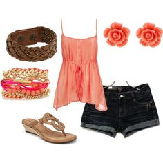 Sunny Summer Day, created by Samantha on Polyvore