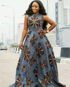 African Print Maxi Dress - Sleeveless and Open Back Maxi Dress - Ankara - African Dress - Handmade - Africa Clothing - African Fashion African Print Maxi Dress - Sleeveless and Open Back Maxi Dress - Ankara - African Dress - Handmade African American Fashion, African Print Fashion, Africa Fashion, African Prints, African Fabric, African Prom Dresses, African Fashion Dresses, Ankara Gowns, Nigerian Ankara Dresses