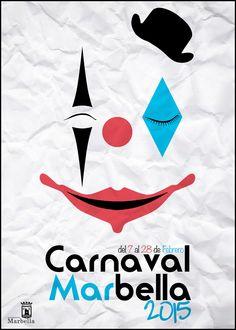 3º Propuestas cartel anunciador Carnaval de Marbella 2015