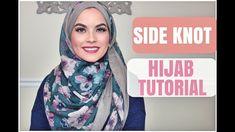 SIDE KNOT HIJAB TUTORIAL ( work, school..)