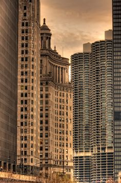 Chicago, Gotham City.  Would love living in Marina Towers.