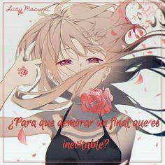 Simplemente es inevitable -Frases de Lucy Masumi