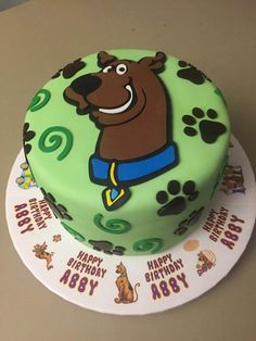 https://flic.kr/p/xvF9MK | scooby doo birthday abby