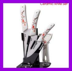 Kitchen Ceramic Knife Sets Cooking Tools cozinha faca de ceramica utilidade de cozinha cuchillo ceramico 5pcs/set knifes kitchen
