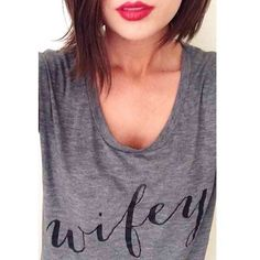 Get what you really want! Last chance to get your 'Wifey Tee' ON SALE!! Don't miss this! {Wifey Sale link in Bio} ( @maryclaireecook) #doit