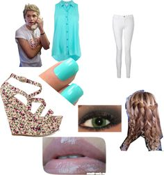 """""""Just Another Day With Niall Horan"""" by leann-iles ❤ liked on Polyvore"""