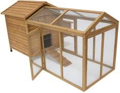 Maple Cat Kennel With Run. Ideas-4-pets