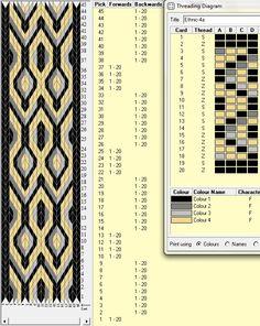 20 tarjetas, 4 colores, comienza con 1F y alterna movimientos 8B-4F