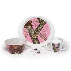 Mossy oak is one of the most effective and recognized camouflage brands in the country. Mossy oak strives to represent their genuine love of the outdoors with uncompromising quality and a unique bond with consumers driven by the heritage of hunting and a love of the great outdoors. This pink... - http://kitchen-dining.bestselleroutlet.net/product-review-for-mossy-oak-6-piece-break-up-infinity-childrens-set-dinnerware-set-pink/