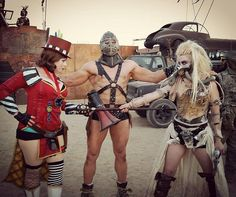 This female Immortan Joe (on the right) is absolutely insane.