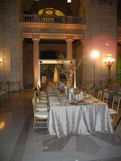 the first kings table of the year! Kings Table, Head Table Wedding, Head Tables, Wedding Ideas, Table Decorations, Furniture, Home Decor, Decoration Home, Room Decor