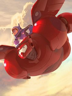 Disney Concept Art - Big Hero 6