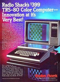 TRS-80.  oh yea baby!  I think we had one with a full 64MB of RAM!
