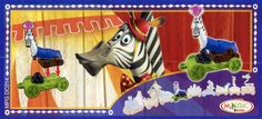 "Marty la zebra dal film ""Madagascar 3"" (2012) targato DreamWorks Animation e Kinder (codice MPGDC214). #Kinder #Madagascar #Madagascar3 #Dreamworks"