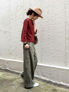 URBAN RESEARCH DOORS WOMENSのパンツ「DOORS ワイドカーゴパンツ」を使ったari☆のコーディネートです。WEARはモデル・俳優・ショップスタッフなどの着こなしをチェックできるファッションコーディネートサイトです。