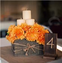 I love this for table setting but I would probably use mint instead of burnt orange