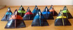 Fahrradschlauch Pyramidentäschchen