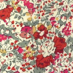 Liberty of London Tana Lawn: Claire Aude Red (W)