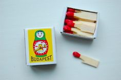 tiny box of matches (image only)