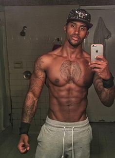 50 Sexy HOT Black Men In Pictures Worth Seeing! Hot Black Guys, Black Men, Hot Guys, Normal Guys, American English, African American Men, Guy Pictures, Body Mods, Male Body