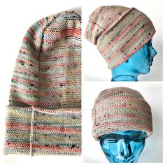 A completely reversible, versatile and unisex pattern, the Paper Bag Hat is adaptable to your preferences: long and slouchy or a perfectly-fitting beanie. If you want, you can knit your entire hank and still have both options as the brim can be folded over a couple of times. Free pattern