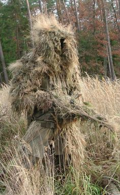 How To Make A Ghillie Suit From Scratch