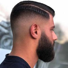 Combover Hairstyles, Mens Hairstyles 2018, Side Part Hairstyles, Beard Fade, Sexy Beard, Best Fade Haircuts, Haircuts For Men, Hair And Beard Styles, Short Hair Styles