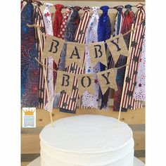 Baby Boy Cake Topper It's A Boy Cake Topper Baby Shower