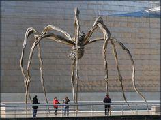 Louise Bourgeois' monumental public sculpture. Zurich www.transitionresearchfoundation.com