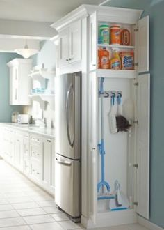 13) Make best use of the extra space in your kitchen.