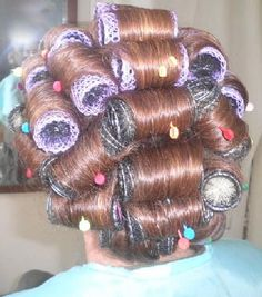 Roller Set, Curlers, Hair Styles, Beauty, Hair Plait Styles, Hair Makeup, Hairdos, Haircut Styles, Hair Cuts