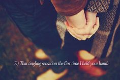 the first time i held your hand