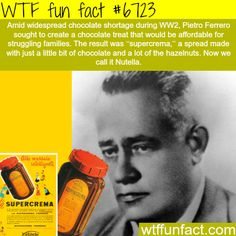 How Nutella was made - WTF fun fact