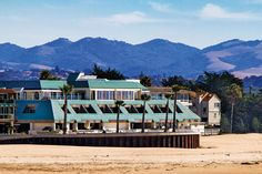 SeaVenture Beach Hotel is Pismo Beach's only full-service hotel and restaurant located right on the beach. The restaurant is on the top floor giving you panoramic views of the sand and sea.