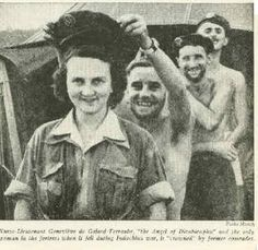 "Genevieve de Galard, a French flight nurse during the Vietnam war, won the Croix de Guerre and the name ""The Angel of Dien Bien phu"""