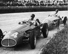 Juan Manuel Fangio A6GCM GP Modena 1953