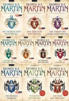 Das Lied von Feuer und Eis, R.R. Martin, Band 1-10