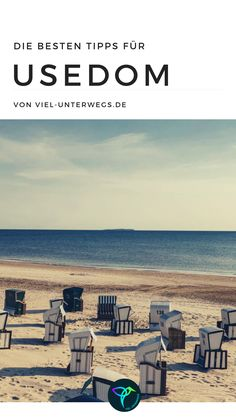 1 week Usedom – holiday on the Baltic Sea. So you can explore the island stress-free and get our personal tips and highlights. Reisen In Europa, Baltic Sea, Stress Free, Travel Guide, Germany, Island, Explore, Holiday, Highlights