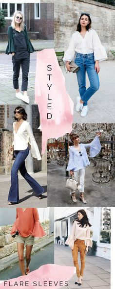 How to style flare sleeves // Dove blouse sewing pattern inspiration // Megan Nielsen Design Diary