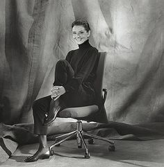 Audrey Hepburn for Vita Furniture advertisement
