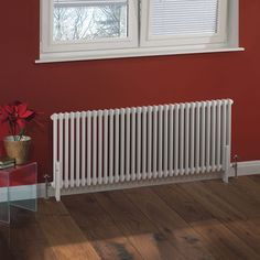 Traditional column radiator by Milano Heating.