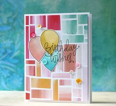 Created by Laura Bassen using the September 2015 card kit by Simon Says Stamp.