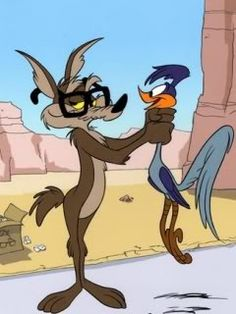 Wile E. Coyote and The Road Runner * * * * * * * * * * * * * * * * * * * * * * * * * * * * * * * * * * * * * * * * * * * * * * * * * * * * * * * *
