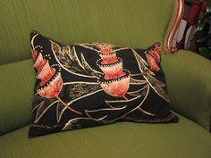 Ailila: Rekipeitto- tyyny - pillow from old wool blanket