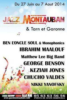 Jazz à Montauban vous dévoile toute sa programmation !