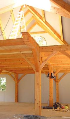 Shelter Institute Timber Frame Options