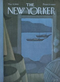 The New Yorker - Saturday, May 22, 1965 - Issue # 2101 - Vol. 41 - N° 14 - Cover by : Charles Saxon