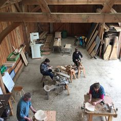 Another great stool making course. They all made some wonderful...