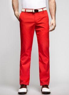 Red Golf Pants for Men | Bonobos